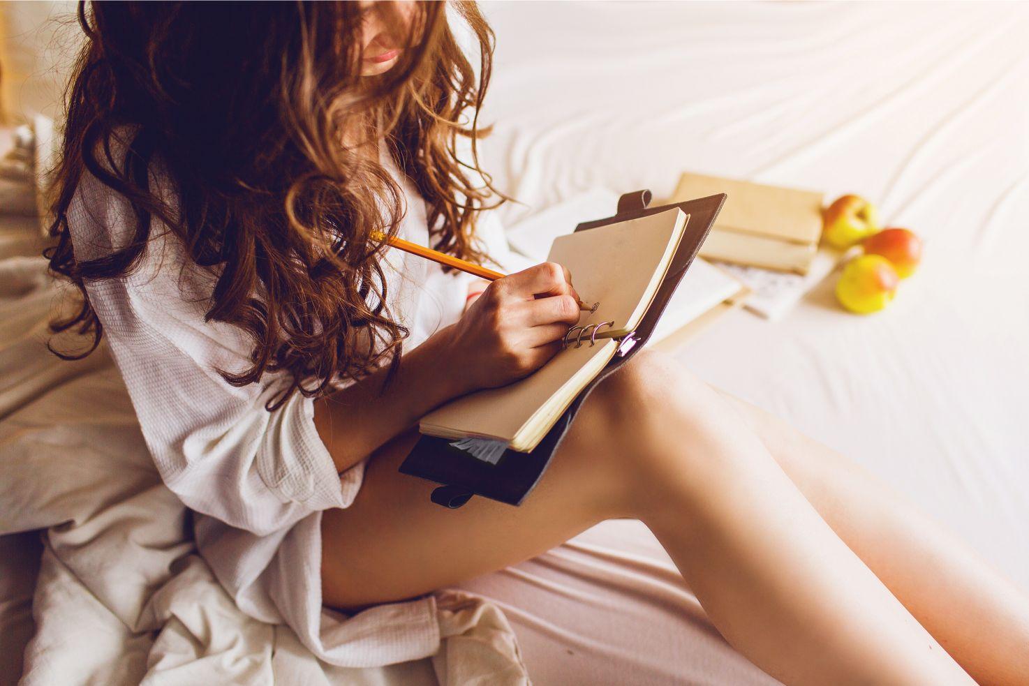 日記をつけて英語力をアップ