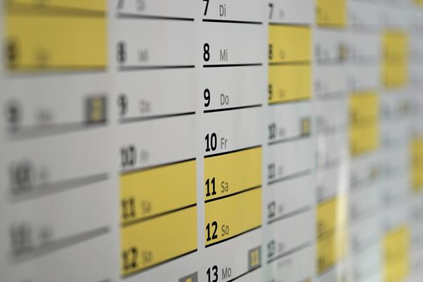 英語での日付の書き方